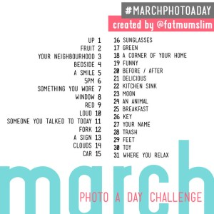 #marchphotoaday