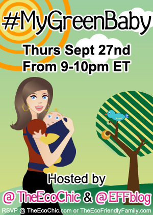 My Green Baby Twitter Party