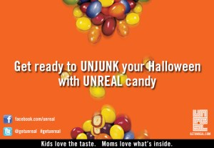 UNJUNK your Halloween with UNREAL candy