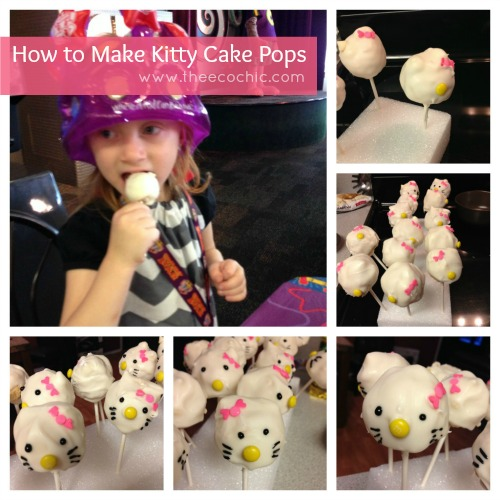 How to Make Kitty Cake Pops