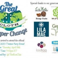 Great Cloth Diaper Change 2013 - Twitter Party
