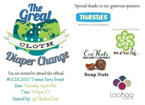 GCDC2013 Twitter Party @TheEcoChic