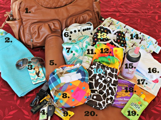 How to Pack a Diaper Bag for Cloth Diapers