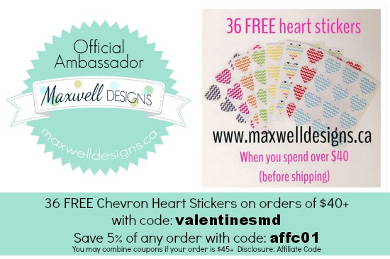 maxwell designs coupon codes