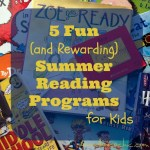 5 Fun and Rewarding Summer Reading Programs for Kids #summerreading