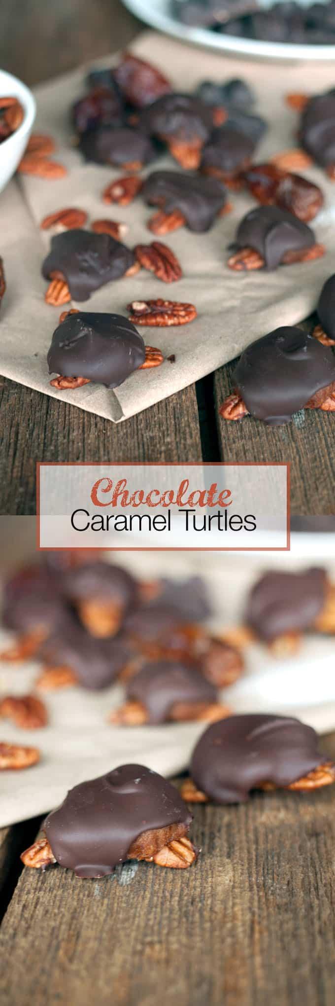Chocolate Covered Turtles Recipe VEGAN | The Edgy Veg