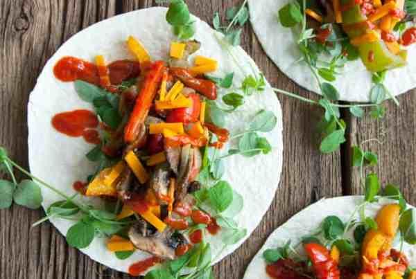 easy vegan fajita recipe