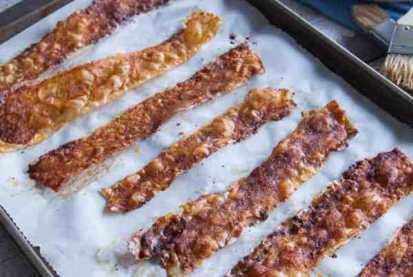 Vegan bacon Recipe: Make Vegan Bacon Using Rice Paper