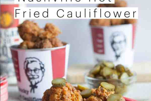 KFC Nashville Hot Chicken - Vegan Cauliflower Recipe - Secret KFC Spices Revealed
