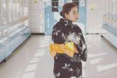Samantha Sanchez in a Japanese Kimono