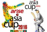 2016 Asia Cup Logo  Photo Credit: Asian Cricket Council