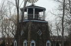 The Douglaston Estate Windmill, built in 1870 at the Alley Pond Environmental Center