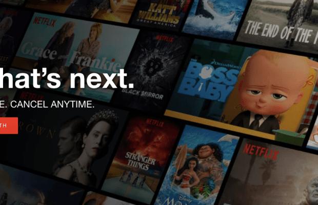 Caption: Log into Netflix during Mid-Winter Break to start a bunch of binge worthy TV Shows!  Photo Credit: Tiffany Naraine