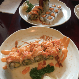 Tokoyo Roll and Spicy Tuna  Photo Credits: Kelliana Seeraj ​
