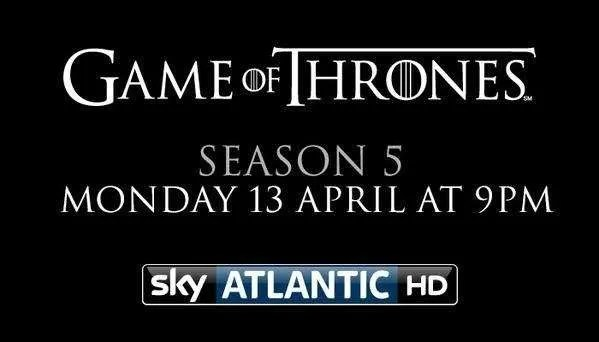 Game of thrones season 5 air date in Perth