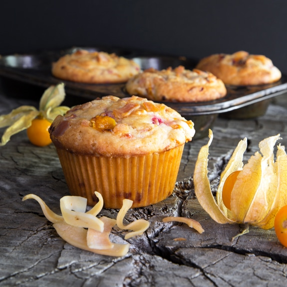 Pichuberry Muffins