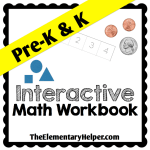 Interactive Math Workbook for Pre-K and K