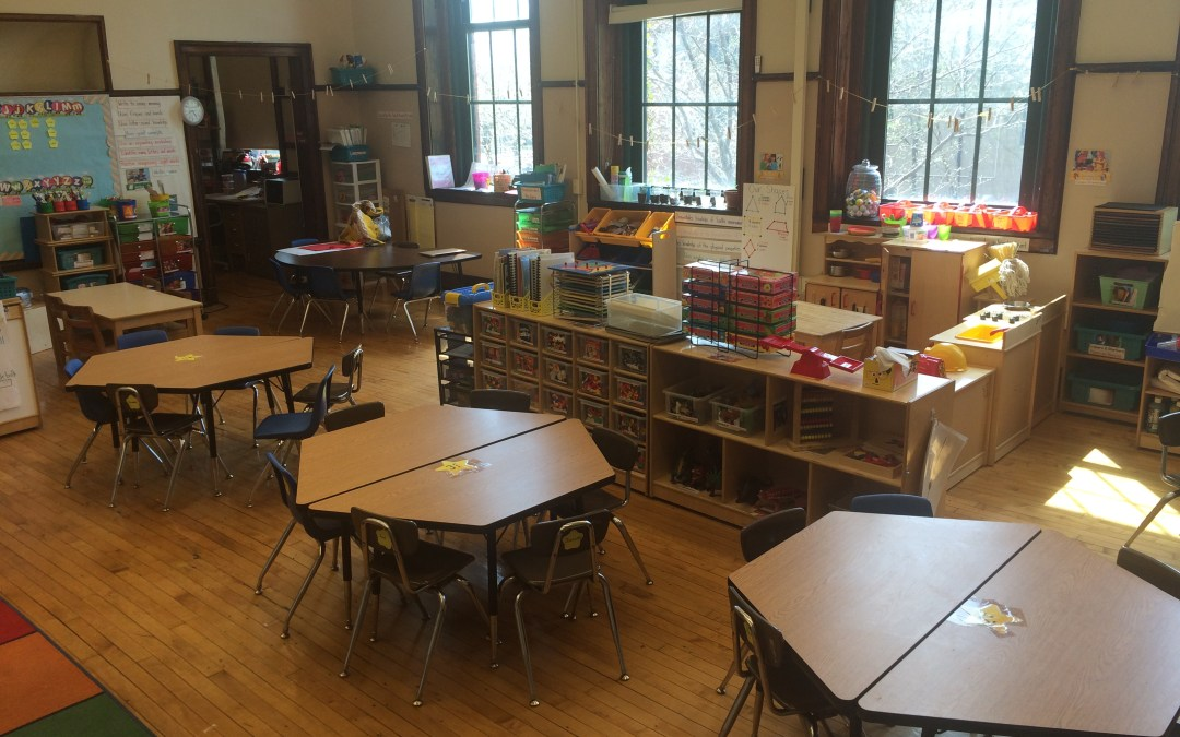 What's It Like in a Pre-K Classroom?  A Classroom Layout.