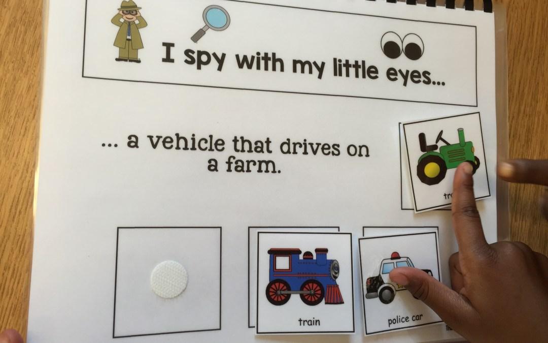 I Spy Vehicles and Activity