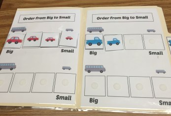 File Folder Vehicles big to small