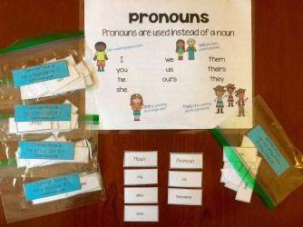 Second Grade Literacy Sorts