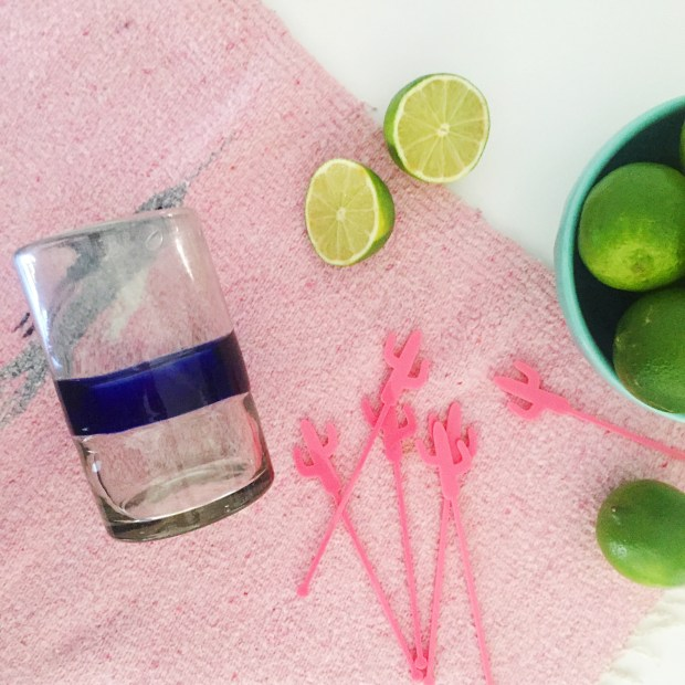 The Perfect Fresh Lime Margaritas | The ELL Blog