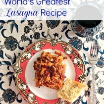 worlds greatest lsasagna recipe
