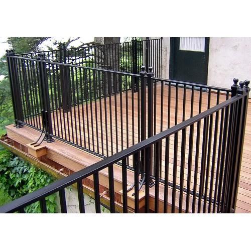Medium Crop Of Metal Deck Railing