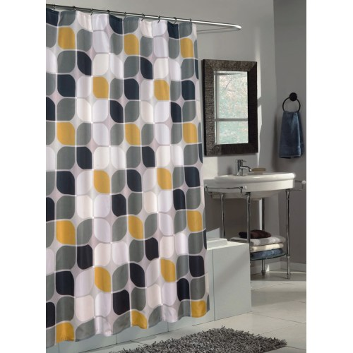 Medium Crop Of Yellow Shower Curtain