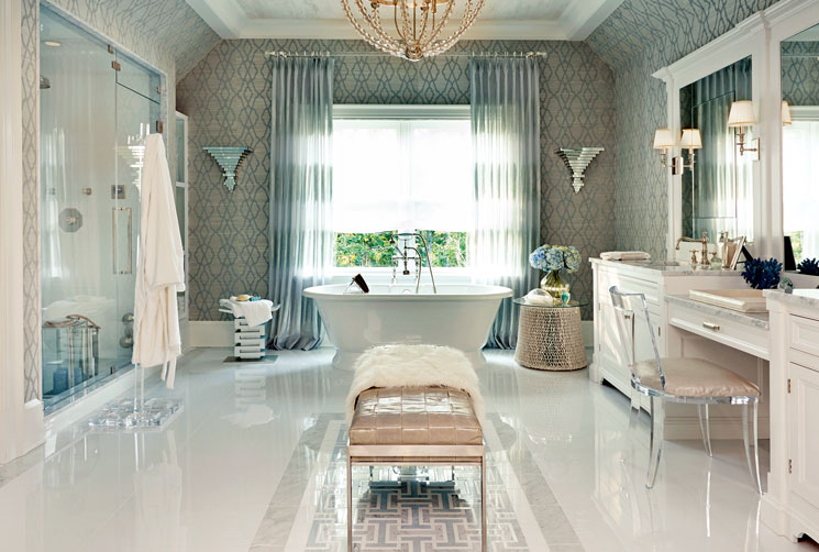 Statement bathrooms the english home for English bathroom ideas