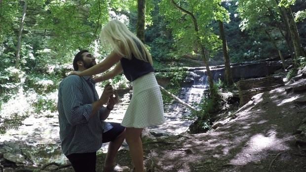 The Everyday Hostess Engagement - Kate Jolliffe and Landon Haaf Proposal