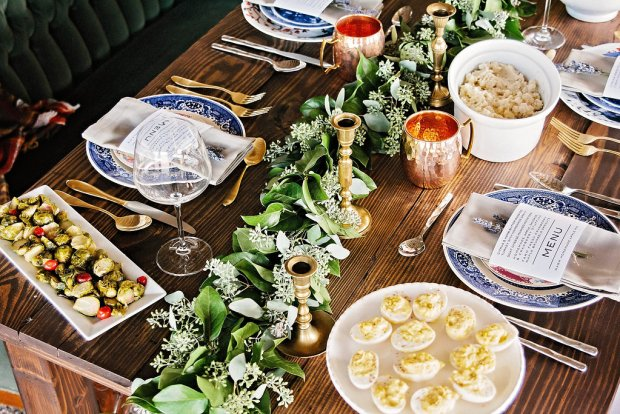 The Everyday Hostess Thanksgiving Table from the Iman Project 7