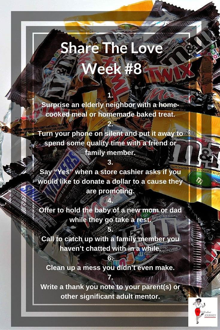 Share The Love, Week #8, Wonderful Wednesday