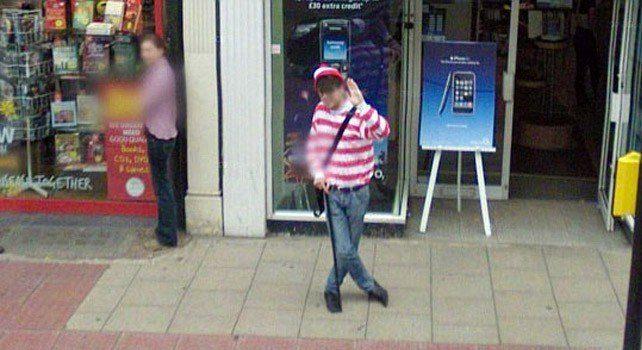 Where's Waldo - Street View