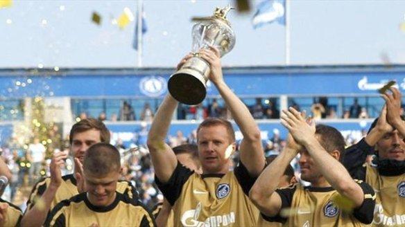 Who will hold the trophy aloft like Zenit did last season?
