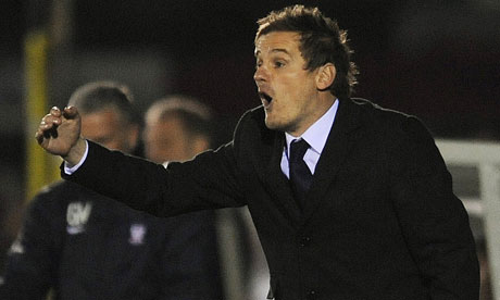 Loyal to the cause: AFC Wimbledon manager, Neal Ardley