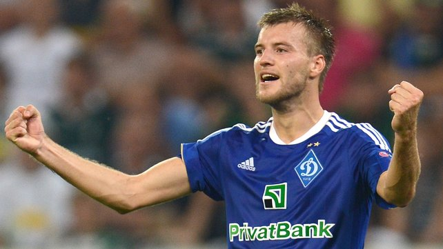 Andriy Yarmolenko - a potential successor to his namesake Sheva?