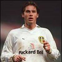 A rare image of Korsten in a Leeds shirt