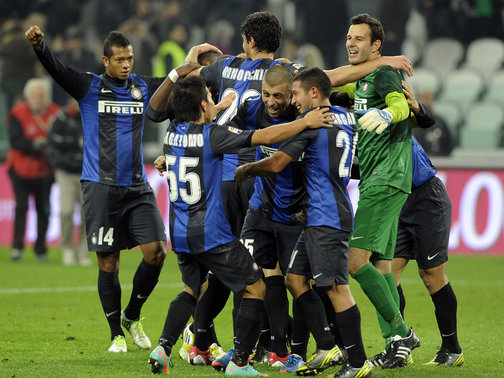 Inter ended Juve's 49-game unbeaten run in November