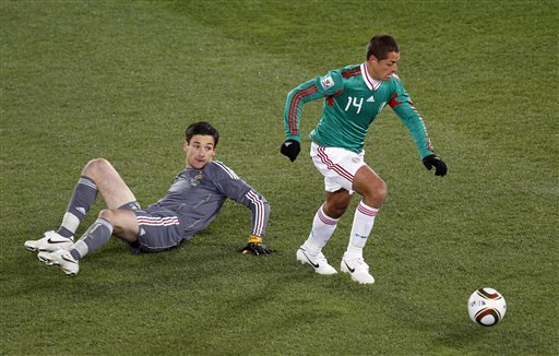 South Africa Soccer WCup France Mexico
