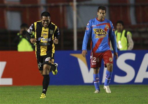 Bolivia Argentina Soccer Copa Libertadores