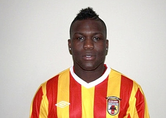 Royston Drenthe has resurfaced in Russia