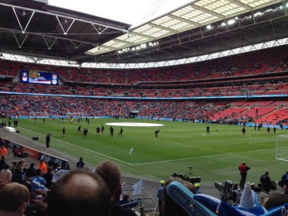 Manchester City Wigan Athletic FA Cup final