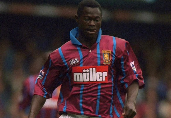 Nii Lamptey at Aston Villa