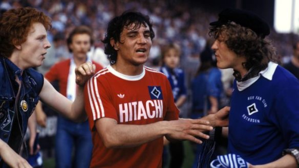 Felix Magath in his playing days