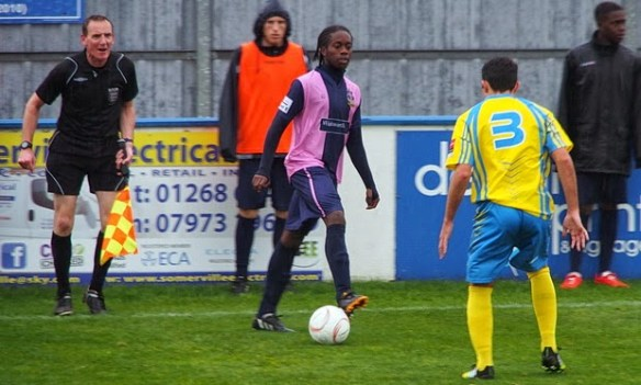 Dulwich Hamlet's Xavier Vidal (Photo: Mike Urban)