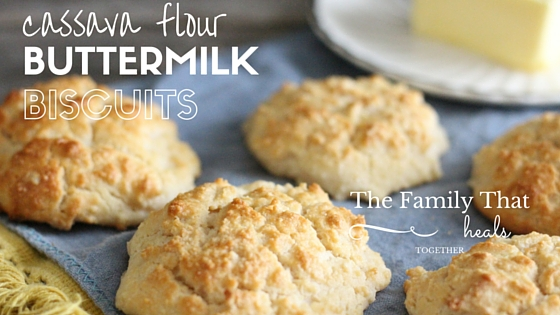 A grain-free recipe that satisfies the southern belle (or gentleman) in all of us: cassava flour buttermilk biscuits, just like grandma used to make!