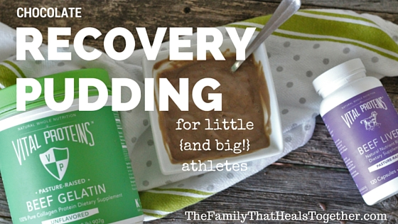 Chocolate Recovery Pudding for Little {and big!} Athletes   The Family That Heals Together