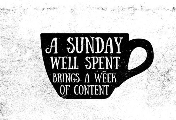 Sunday the Weekend Font Download