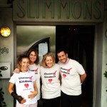 Farley Project Friends at Richard Simmons' Slimmons Class